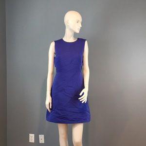 NWT Kate Spade Cutout Blue Dress SZ 6